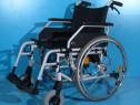 Carucior cu rotile dizabilitati B+B / latime sezut 52 cm
