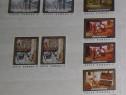 """2 serii timbre """"Reproduceri de artă din muzeele R.S.R - 1987"""