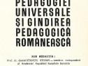 Clasici ai pedagogiei universale si gandirea pedagogica