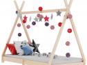 Cadru de pat pentru copii, 90 x 200 cm, lemn 283357