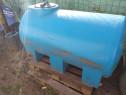 Cisternă 1000 litri din plastic antistatic.