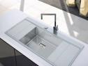 Chiuveta bucatarie inox CookingAid XERON B50 ventil automat