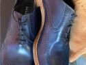 Pantofi Fratelli Rossetti luxury,antique blu Toledo,produs o