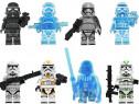 Set 8 Minifigurine tip Lego Star Wars cu Vader + Cpt. Phasma