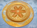 5473-Frunoasa Aplica orientala veche marcata Benlamlih-A-Fes