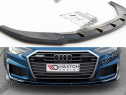 Prelungire splitter bara fata Audi A6 S-Line S6 C8 2019- v2