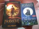 Cartea Hobbitul plus o carte de Charlaine Harris
