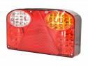 Lampa remorca cu LED-uri Latime: 23,5 cm Lungime: 13,5 cm