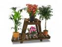 Etajeră flori din lemn Derby, livrare în toată țara