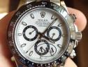 Ceas Rolex Daytona Panda 40 mm geam Safir bezel Ceramic