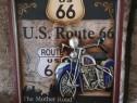Tablou vintage Route US 66