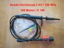 Sondă de osciloscop, înaltă tensiune 100: 1/( 2 Kv) /100 Mhz
