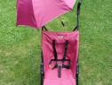 Carucior sport, usor, cu umbrela, violet