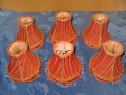 B731-Set 6 palarii pentru aplice electrice, veioze, lampi...