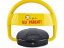 Blocator parcare automat cu telecomanda si incarcare solara