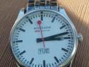Mondaine watch Day Date quartz