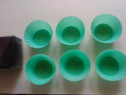 6 forme de silicon rezistent pentru prăjituri reci sau calde