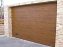 Usa de garaj Sectionala Wenge, Dimensiuni 3000x3000H
