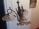 Lampa candelabru cu trei pozitii