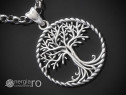 Pandantiv Pomul Arborele Copacul Vietii Argint - cod PND911
