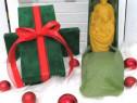 Cutie cadou - Lumanare ceara tip statueta Nasterea Domnului