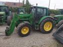Tractor John Deere 6420TLS Premium, an 2004, AC, 4x4. IMPORT
