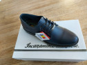 Pantofi barbati model corsa bleumarin piele naturala 100%