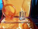 Cadou elegant din china cristal renoldi cu dragon cu perla