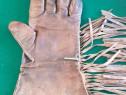 Mănuși piele vintage