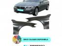 Aripa fata BMW F10 F11 VOPSITA Negru/Albastru/Argintiu/Alb