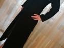 Palton de damă, elegant, negru