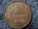 Moneda 50 franci francezi 1952