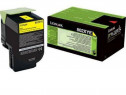 Toner Lexmark CX510 80C2XYE 802XYE Corporate, galben