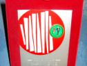B928-I-Placheta stativ Olimpia Club Marsul verde Italia.
