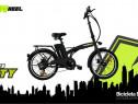 Bicicleta electrica FreeWheel E-bike City Pliabila, Nou