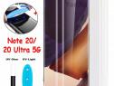 Folie Sticla Curbata 6D UltraViolet Samsung Note 20 20 Ultra