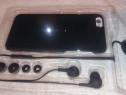 Husa telefon iphone 6 6s pachet 2in1 cu casti white diamonds