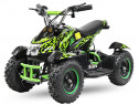ATV electric NITRO ECO Cobra 800W 36V cu 3 Viteze #Verde