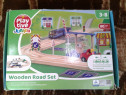 Play-Tive Wooden Road Set jucarie copii +3-8 ani