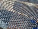 Tabla expandata otel 43x20mm inox aluminiu otel zincat Plasa