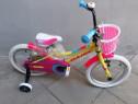 Bicicleta ''16 galbena - noua