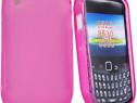 Husa Telefon Silicon Blackberry 8520 9300 violet PRODUS NOU