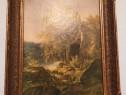 """Tablou """"Vedere pe insula Valaame"""" - de I.Șișkin."""