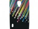 Husa telefon silicon lg optimus l7 ii stars black produs nou