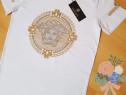 Tricouri Versace unisex ,Italia logo brodat, marimi diverse