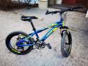 Bicicleta Caraiman, pentru copii - 21 viteze, frane pe disc