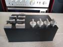 Set butoane Aluminiu Amplificator Sony,etc. Impecabile.