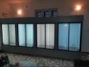 Vitrine modulare de perete cu agregat extern sau intern
