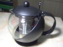 Ceainic din sticla cu infuzor