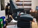 Scaun pneumatic perna aer tractor cu compresor incorporat